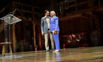 Lin Manuel Miranda, Hillary Clinton