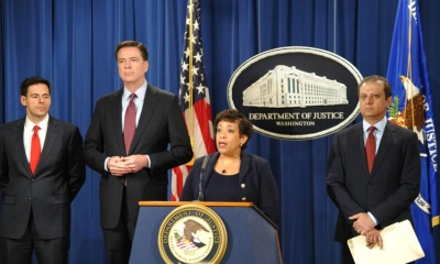 loretta Lynch, James Comey
