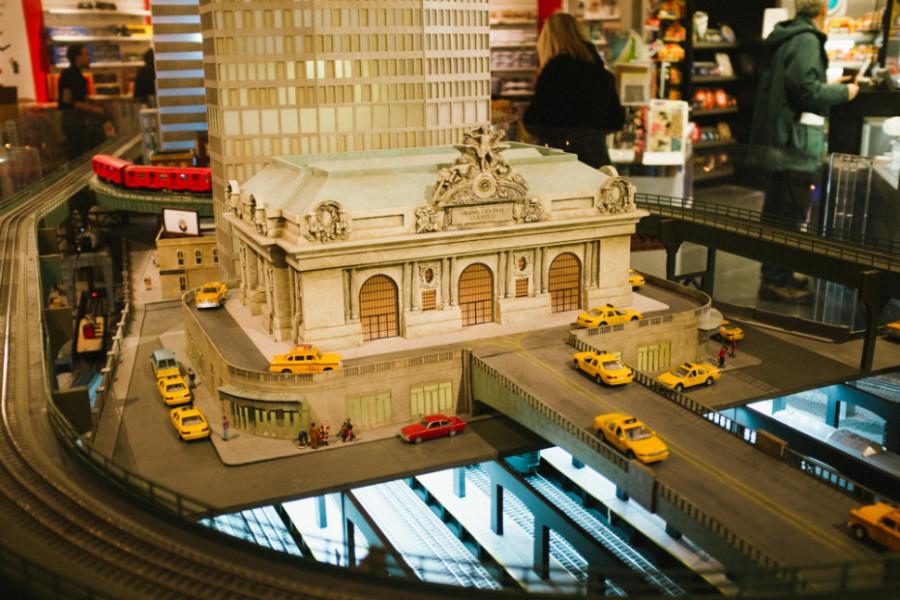 Train show, Grand Central