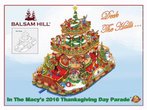 Balsam Hill, Macy's Thanksgiving Day Parade