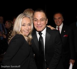 Eda Sorokoff & Tony Danza
