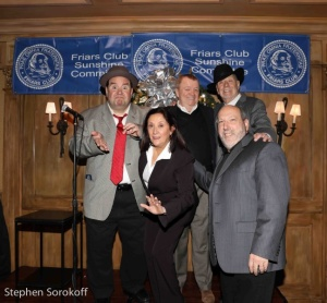 Bob Greenberg, Nancy Lombardo, Tom Debow, Chariman, Joe Bev, Marc S. Lippman