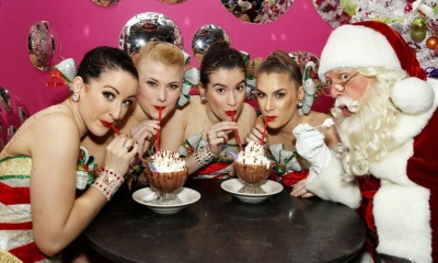 Serendipity 3. The Rockettes, Santa Claus