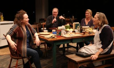 Maryann Plunkett, Roberta Maxwell, Amy Warren, and Jay O. Sanders (Joan Marcus)