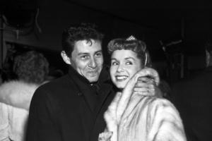 Debbie Reynolds and Eddie Fisher