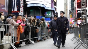 Times Square Police Officer