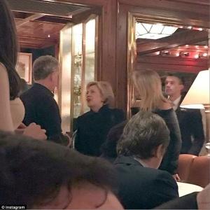 Hillary Clinton, Christy Brinkley