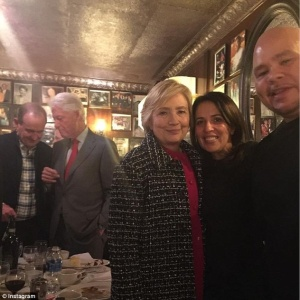 Hillary Clinton, Fat  Joe,  Mojgan Fajiram