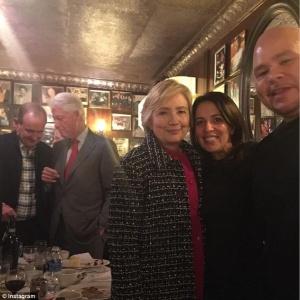 Hillary Clinton, Fat  Joe,  Mojgan Fajiram