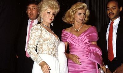 Donald Trump, Ivanka Trump, Zsa Zsa Gabor
