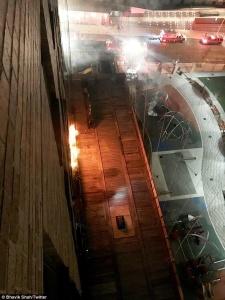 Fire on 59th Street