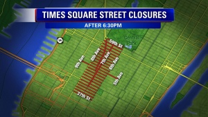 Times Square Street Closures