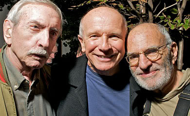 Edward Albee, Terrence McNally, Larry Kramer