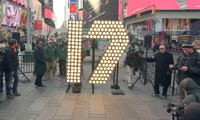 New Years Eve, Numerals for 2017