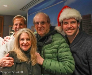 Joey Reynolds, Julie Budd, Danny Aiello, Steven Scott