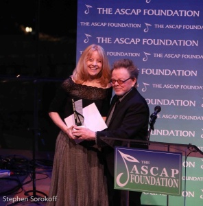 Maria Schneider & Paul Williams, President ASCAP