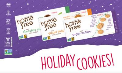 Homefree, Gluten Free Cookies