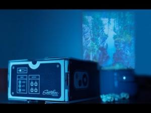smartphone Movie Projector