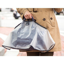 purse raincoat