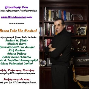 BroadwayCon,Chazz Palminteri, A Bronx Tale