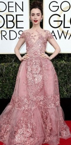 Lily Collins, Zuhair Murad Couture