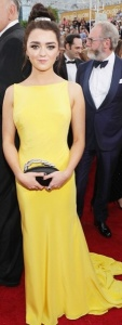 Maisie Williams , Atelier Versace