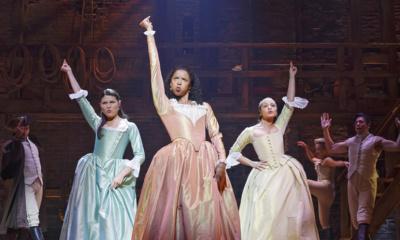 Schuyler Sisters, Hamilton, Phillipa Soo, Renée Elise Goldsberry, Jasmine Cephas Jones