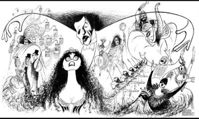 AL HIRSCHFELD, Phantom of the Opera