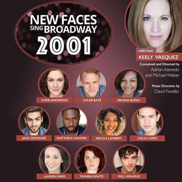Porchlight New York: Porchlight's New Faces Sing Broadway 2001- Kicking Cabaret
