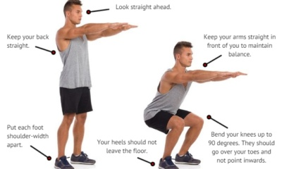 Squat Challenge Exercise Workouts