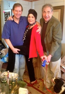 Stephen Hanks, Carol Lawrence, Frank Evans