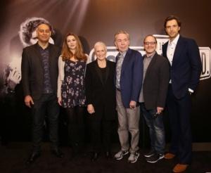 Fred Johanson, Siobhan Dillon, Glenn Close, Andrew Lloyd Webber, Lonny Price, Michael Xavier