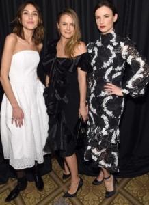Juliette Lewis, Alicia Silverstone, Alexa Chung