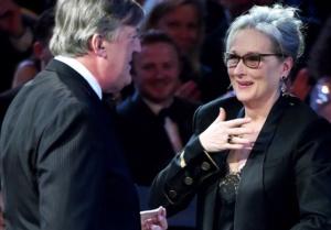 Stephen Fry, Meryl Streep