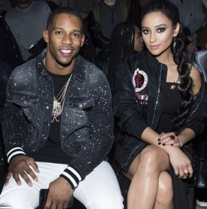 Victor Cruz, Shay Mitchell