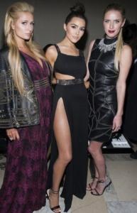 Paris Hilton, Olivia Culpo, Nicky Hilton