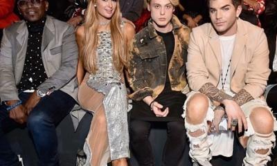 Randy Jackson, Paris Hilton, Adam Lambert