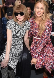 Anna Wintour, Blake Lively