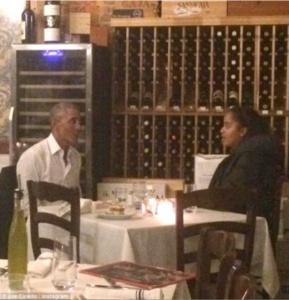 Emilio's Ballato, President Obama, Malia Obama