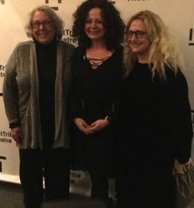 Jane Houdyshell, Geraldine Hughes, Carol Kane