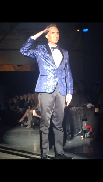 The Blue Jacket Fashion Show Brings Awareness To Prostate ...