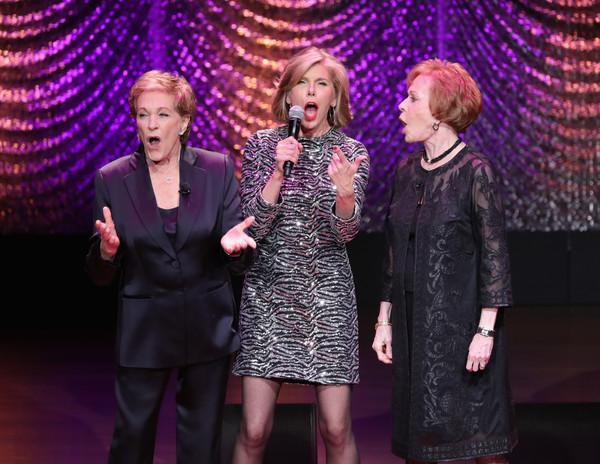 Julie Andrews, Carol Burnett, Christine Baranski