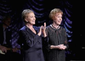 Julie Andrews, Carol Burnett,