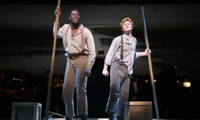 Kyle Scatliffe, Nicholas Barasch. All photos by Joan Marcus.