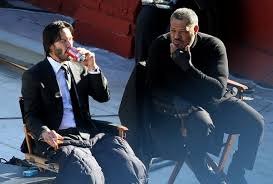 Keanu Reeves, Laurence Fishburne
