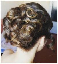 Rosette curls