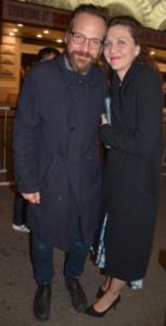 Peter Saarsgard and Maggie Gyllenhaal