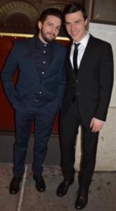 John Magaro and Finn Wittrock