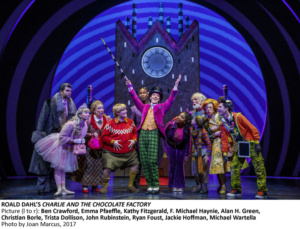 Christian Borle, Charlie and the Chocolate Factory