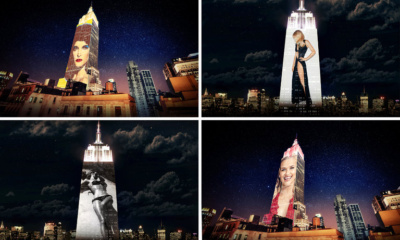 Harper's BAZAAR 150th Anniversary, Empire State Building